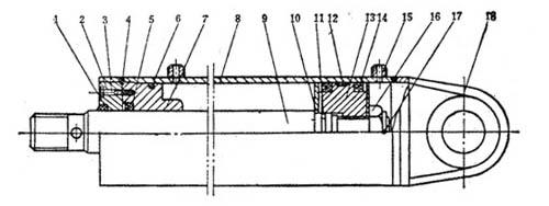 dg型车辆用液压缸结构图